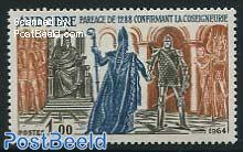 1.00Fr, Stamp out of set