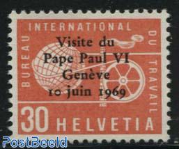 Visit of pope Paul VI 1v
