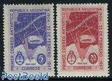 Antarctic post 2v