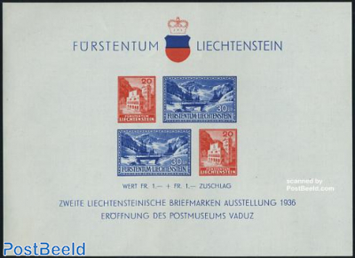 Postal museum s/s