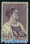 5+4c, Queen Wilhelmina, Stamp out of set