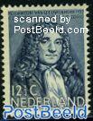 12.5+3.5c, A. van Leeuwenhoek, stamp out of set