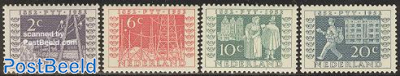 Stamp centenary 4v