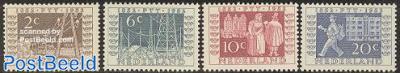 Stamp centenary, ITEP exposition 4v