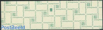 2x20+5x12c booklet, count block, text:Een postgiro