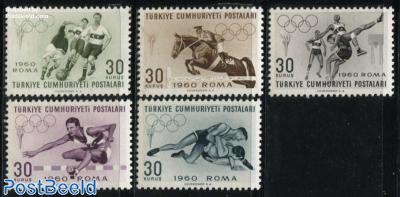 Olympic Games Rome 5v