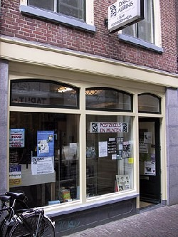 Our stamp shop in Leiden